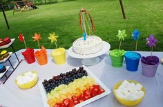 Rainbow party party-ideas