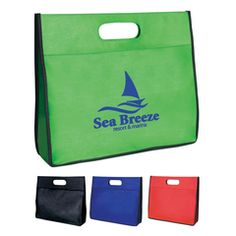 Non Woven Tote Case - Promotional Tote bags are great for your customers to take home all of that paperwork they have to sign!