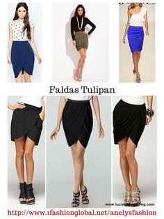 Estas faldas nunca pasan de moda.  Visita:  http://www.1fashionglobal.net/anelysfashion