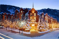 Aspen- beautiful...I will go here in the winter someday!