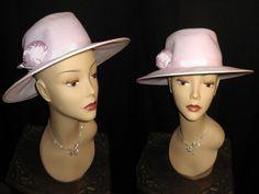 Spring SALE  Vintage Lilac IMPORTINA Wide Brim by jwvintagecloset, $38.00
