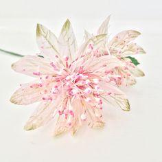 Astrantia crepe paper flower