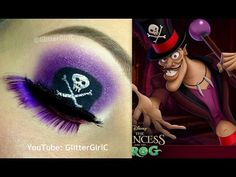 Disney's Dr. Facilier Makeup Tutorial. Youtube channel: full.sc/SK3bIA