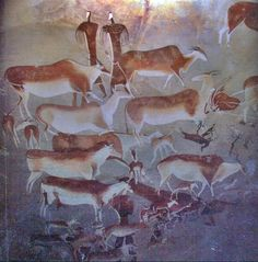 Prehistoric Cave Painting | 35000 years ago | Art Ancient History