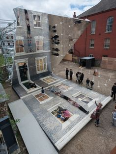 Dalston House by Leandro Erlich - News - Frameweb