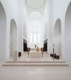 Locations & Spaces | John Pawson's St Moritz Church - http://www.2015decoration.com/other/locations-spaces-john-pawsons-st-moritz-church.html -  #Other
