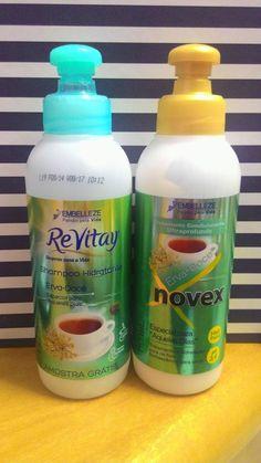 Estética Feminina: Resenha: Shampoo e Condicionador Novex ReVitay Erv...