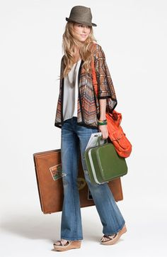 Love all of this!  (even the suitcases... that means I'm going somewhere! )