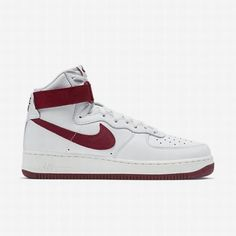 separation shoes cb322 07fa3 106.99 nike air force 1 high top red,Nike Mens Summit WhiteTeam Red