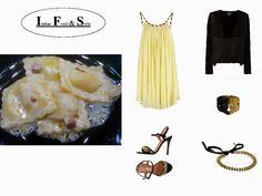 Italian Food and Style: Un vestito per due matrimoni