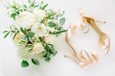 BHLDN blush wedding shoes: http://www.stylemepretty.com/massachusetts-weddings/boylston-massachusetts/2016/08/10/romantic-botanical-garden-wedding-2/ Photography: Kelly Dillon - http://kellydillonphoto.com/
