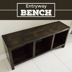 After I finished the entertainment center, I had scrap wood left over, so I decided to make a bench for our entryway. Because I already had the wood, stain, and screws left over from my entertainment center,this project was essentially free (or at least it felt like it was free). [This post containsaffiliate links.Read my […]