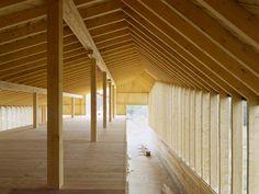 """subtilitas: """" LOCAL architecture - Cow shed, Lignières 2005. Photos © Milo Keller. """""""