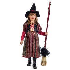 disfraz de bruja arcnida para nia