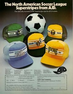 NASL fashion circa 1978