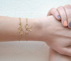 Handmade bracelets with your name