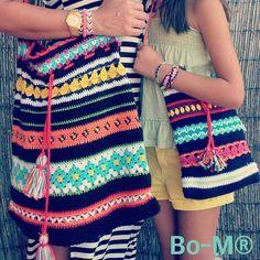 Bo-M: Sacos Boho Mãe & Filha