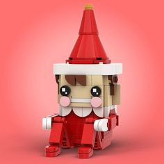 It's never too late! You still have time to build a Christmas themed BrickHeadz [Instructions] Lego Christmas, Christmas Themes, Christmas Gifts, Lego Skyscraper, Bloc Lego, Lego Winter, Lego Craft, Lego Robot, Lego For Kids