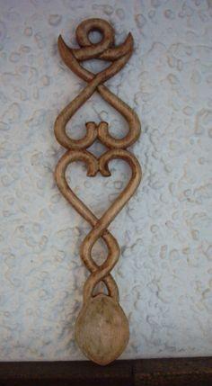 Love spoons 7 Welsh Love Spoons, Wood Spoon, Wood Carvings, Crosses, Candle Sconces, Wales, Celtic, Fancy, Diy