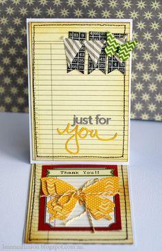 Just For You Card by Leanne Allinson via Jillibean Soup Blog