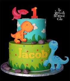 Birthday nails march 20 ideas for 2019 Dinosaur First Birthday, Boys 1st Birthday Cake, Boys First Birthday Party Ideas, Birthday Nails, Dinosaur Cake Pops, Dino Cake, Die Dinos Baby, Cake Works, Dinasour Cake