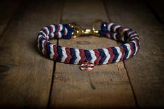 **Paracord Hundehalsband Ankerliebe von Hanseschnute - Der Dauerbrenner - mit diesem Halsband ist dein Liebling zu jedem Anlass perfekt gekleidet** _Mit viel Liebe zum Detail werden unsere...