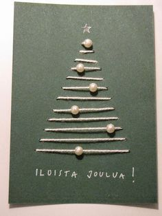 Картинки по запросу joulukortti ideoita
