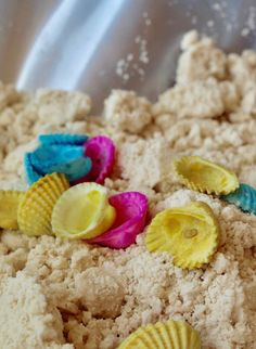 Simple DIY Mermaid Sand - Everyday Party Magazine