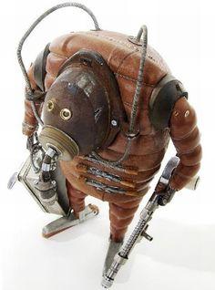 Bizarre Sculptures a la Steampunk - Stephan Halleux