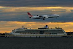 Air or Sea: @royalcaribbean vs. @turkishairlines