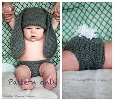 a2a489889c3a Newborn Gear  22 Totally Adorable Crocheted Animal Set Patterns To Make or  Purchase