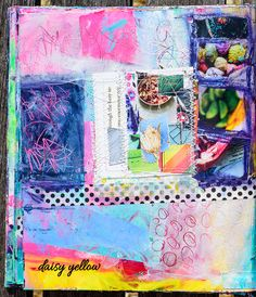 Art journal: Daisy Y