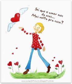 O amor nos dá asas...
