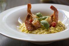 Risotto mit Riesenshrimps Risotto, Austria, Ethnic Recipes, Food, Essen, Meals, Yemek, Eten