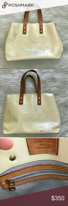 "Louis Vuitton Vernis Reade In Good Condition! I just need a bigger bag. Please check the pictures for imperfections. Slight marks at exterior. Bundle and save in my closet. I ship the same day depending on the time of purchase. Otherwise, the next day. Happy shopping and happy poshing.   Measurements: Height: 6.75"" Width: 8.5"" Depth: 3.75"" Louis Vuitton Bags Totes"