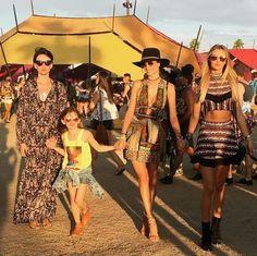 Alessandra Ambrosio à Coachella en 2016