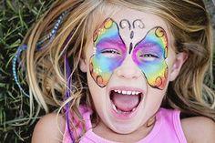 Kinderschminken: 20+ Vorlagen mit Step-by-Step Anleitung
