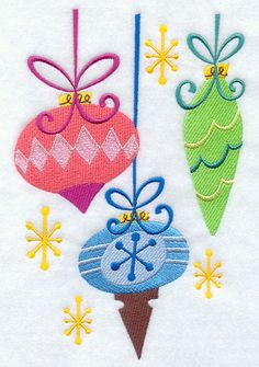 1950s christmas ornaments | make christmas a blast from the past with retro christmas