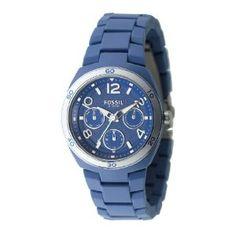 $95.00 Fossil Berkley Blue Multifunction Dial Watch
