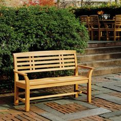 Kingsley Bate Mandalay 4.5 Ft. Outdoor Bench   MD45   Goes Well With Mission
