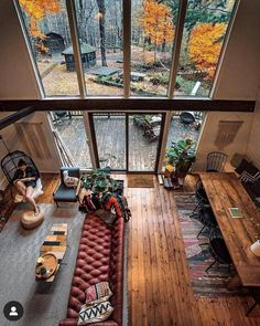 Trendy Home Design Modern Big Windows Home Design, Home Interior Design, Design Ideas, Exterior Design, Design Design, Design Inspiration, Room Inspiration, Design Trends, Brick Design