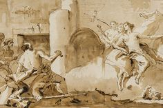Giovanni Battista Tiepolo (March 5, 1696 – March 27, 1770), also known as Gianbattista or Giambattista Tiepolo, was an Italian painter and printmaker from the Republic of Venice. He was prolific, and worked not only in Italy, but also in Germany and Spain.
