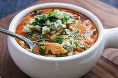 Buffalo chicken soup!