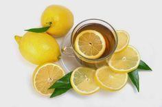Agua tibia con limón quemar grasa y perder peso