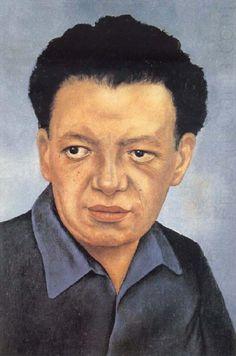 Portrait of Diego Rivera, Frida Kahlo