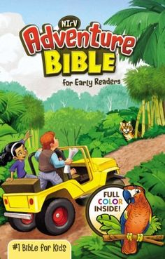 Adventure Bible for Early Readers, NIrV by Lawrence O. Richards, http://www.amazon.com/dp/031072743X/ref=cm_sw_r_pi_dp_j4CKub00BHCXD