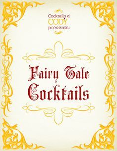 Cody's Fairytale Cocktail book is available & for sale on Etsy! The ebook can be found at :  https://www.etsy.com/listing/253188371/fairy-tale-cocktails?ref=shop_home_active_1