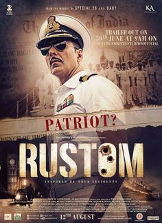 Rustom, a naval commissioner, and Cynthia, his wife, are happily married. However, their lives adjust behind he discovers her affair an...