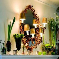 nell hill's | Stretch your decorating budget and create your own spring with green ...