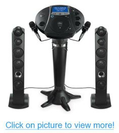 Karaoke Singing Machine iSM-1030BT iPod Pedestal 2 Tower Speakers 7 Color LCD by Singing Machine #Karaoke #Singing #Machine #iSM_1030BT #iPod #Pedestal #Tower #Speakers #Color #LCD
